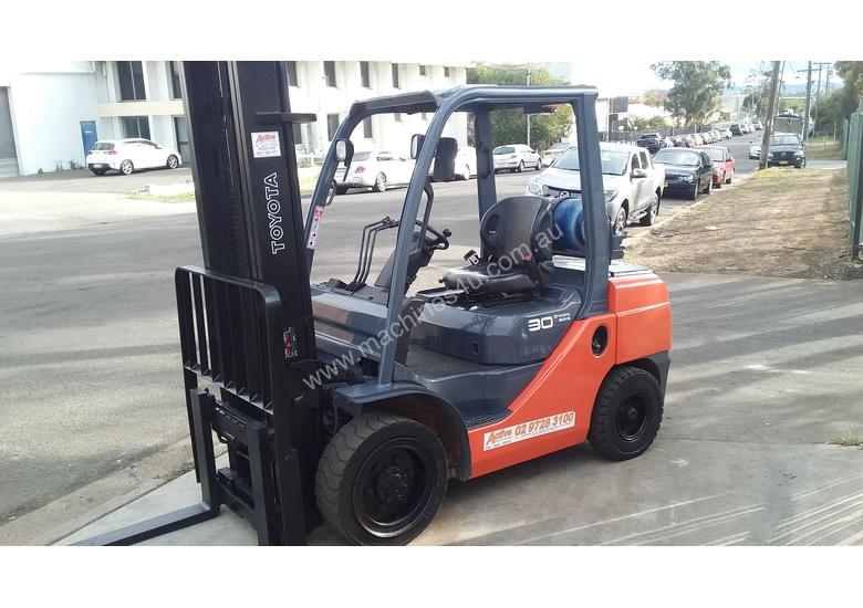 Toyota Forklift 8FG30 3 Ton 4.5m Lift Low Hrs $16999+ GST *Negotiable*