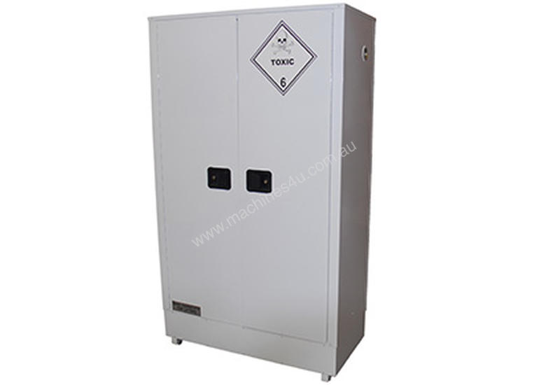 250 Litre Indoor Toxic Substance & Pesticide Storage Cabinet. Made in Australia