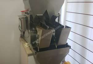 Double Head Weigher Coffee beans or muesli etc. Weighing and Bagging machine.