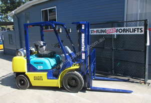 Komatsu 2.5 ton Container Mast Used Forklift