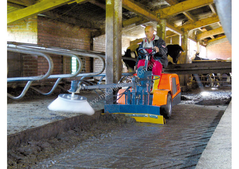Ride on Carrier Sweeper Cleaner with Brush