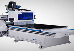 Exceptional performance and value. 3640 x 1820mm Flat Bed CNC. New from KDT. 12 rotary toolchange