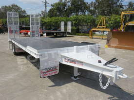 Interstate Trailers Custom White 11 Ton Tag Trailer ATTTAG - picture0' - Click to enlarge