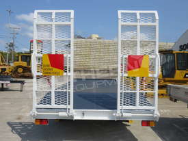 Interstate Trailers Custom White 11 Ton Tag Trailer ATTTAG - picture6' - Click to enlarge