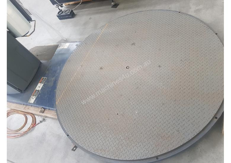 NOXON PALLET STRETCH WRAPPER, Italy. LANTECH PALLET WRAPPER Q300, Made in USA *SOLD* from $7,000