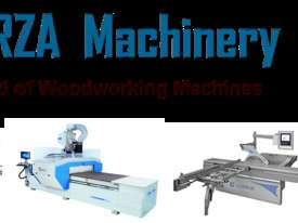 Edgebanders with corner rounder + pre milling + return conveyor - picture20' - Click to enlarge