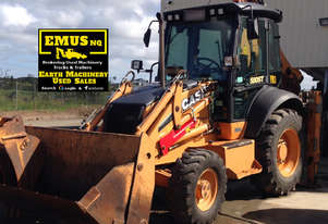 2013 Case 580ST Backhoe, low hours, attachments. EMUS MS460