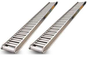 Digga Aluminium Loading Ramps for Micro Mini Excavators up to 1T - LR152530