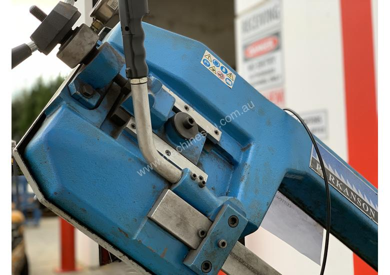 Just In - Parkanson 350mm Semi Auto Bandsaw with Hydraulic Clamping