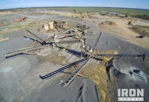 Complete Custombuilt Crushing and Screening Plant