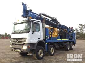 2011 Bournedrill L700THD 8x4x4 Drill Truck - picture1' - Click to enlarge