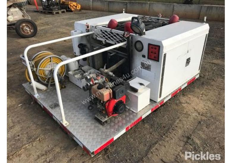 Used 2003 Marcia Street Fabricator Fire Unit Fitted With
