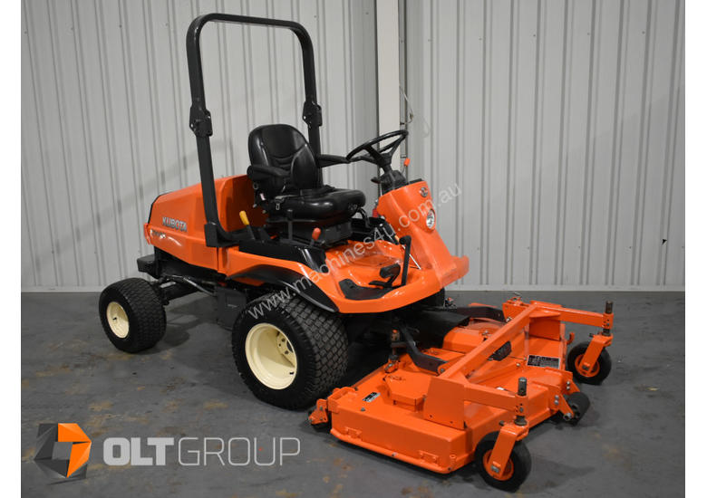 Kubota F3680 Out Front Mower 36hp Diesel 60 Inch Rear OR Side Discharge Decks New Tyres