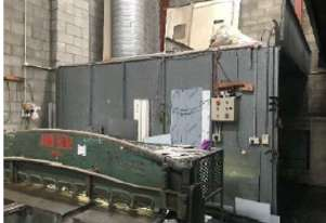 Spray Booth with Vents