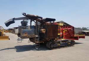 2009 Burnt Morbark 40-36 Tracked Whole Tree Chipper *DISMANTLING*