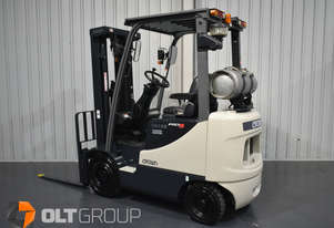 Crown 1.8 Tonne Forklift LPG Pro 5 Series 3349 Low Hours 4.7m Lift Height Sydney Melbourne