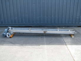 Stainless Auger Feeder Screw Conveyor - 3.15m long - picture0' - Click to enlarge