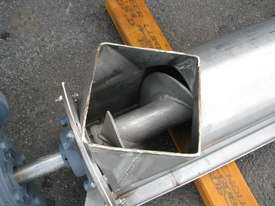 Stainless Auger Feeder Screw Conveyor - 3.15m long - picture3' - Click to enlarge