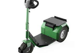 Electric Pull/Push Tow Tug, 400watt, 1500kg Capacity, Stand-on Model,  Green