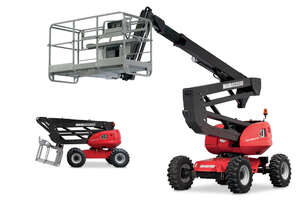 Unbeatable Manitou 16m - 400kg & 3 pax in the basket - 160ATJ+ rough terrain platform