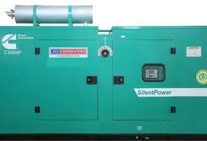 55 KVA Cummins Three Phase Diesel Generator