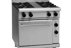 Waldorf 800 Series RNL8510GE - 750mm Gas Range Electric Static Oven Low Back Version