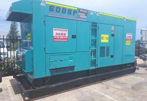 Excellent Long term hire rates available Denyo DCA600 Generator 600KVA