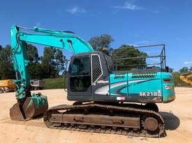 Kobelco SK210 Tracked-Excav Excavator - picture1' - Click to enlarge