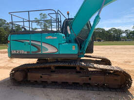 Kobelco SK210 Tracked-Excav Excavator - picture2' - Click to enlarge