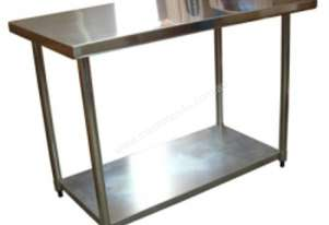Brayco 3048 Flat Top Stainless Steel Bench (762mmW