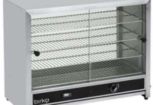 Birko 1040092 100 Pie Warmer With Glass Doors