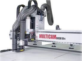 Multicam 3600x1800 CNC router - Cabinetmakers Pack