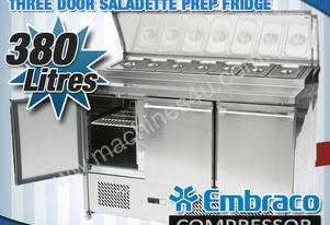 3 DOOR SALADETTE PREP FRIDGE - ES03-69