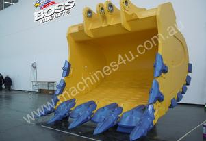 BOSS 200-350 TON MINE SPEC ROCK BUCKETS