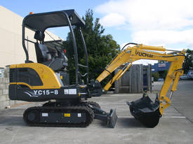 Yuchai YC15-8 Mini Excavator - picture2' - Click to enlarge