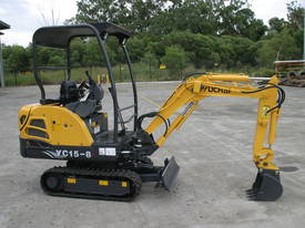 Yuchai YC15-8 Mini Excavator - picture1' - Click to enlarge