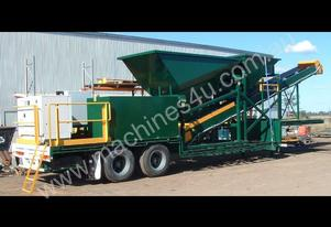 TRAILER MOUNTED TOP OF THE RANGE BATCHING PLANT