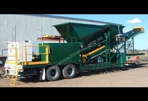 Thomas Trailer Mounted Top of the Range Batching Plant