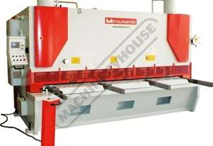 HG-3225VR Hydraulic NC Guillotine - Variable Rake 3200 x 25mm Mild Steel Shearing Capacity 1-Axis Ez