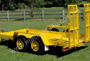 No.16H Tandem Axle Plant Trailer Air/Hyd