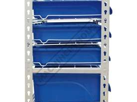 SR-36 Mobile Storage Bin Rack 36 Bins 880 x 410 x 1705mm - picture2' - Click to enlarge