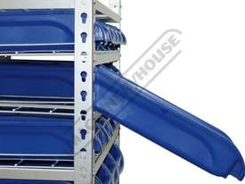 SR-36 Mobile Storage Bin Rack 36 Bins 880 x 410 x 1705mm - picture3' - Click to enlarge