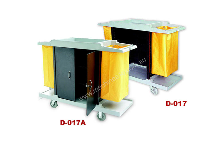D-017 Housekeeping Linen Trolley