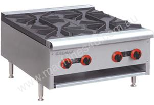 F.E.D. RB-4(R) Gasmax Four Burner Gas Cook Top