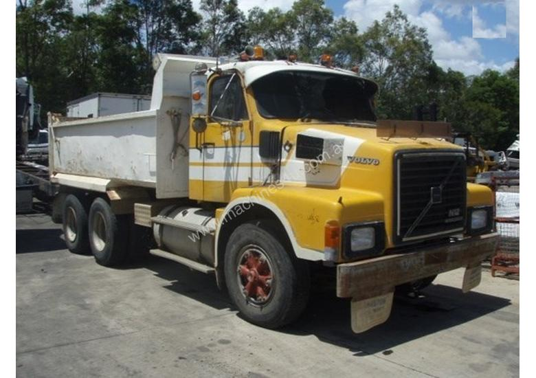 Parts And Wrecking 1987 Volvo N12 Tipper Trucks In Wacol Qld