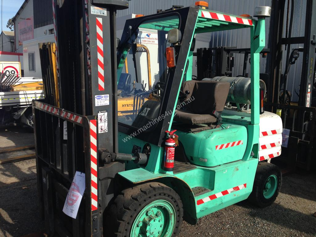 Used caterpillar GP30 Counterbalance Forklift in ,