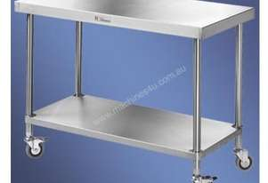 Simply Stainless S/Steel Mobile Work Bench