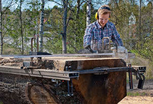 LOGOSOL Big Mill Pro (with LSG Alaskan style jig) - Chainsaw Mill