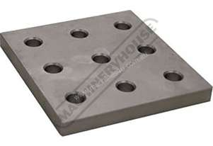 T61009 BuildPro Fixturing Plate 9 Hole 150 x 160 x