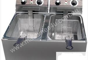 F.E.D. EF-102 Double Benchtop Electric Fryer